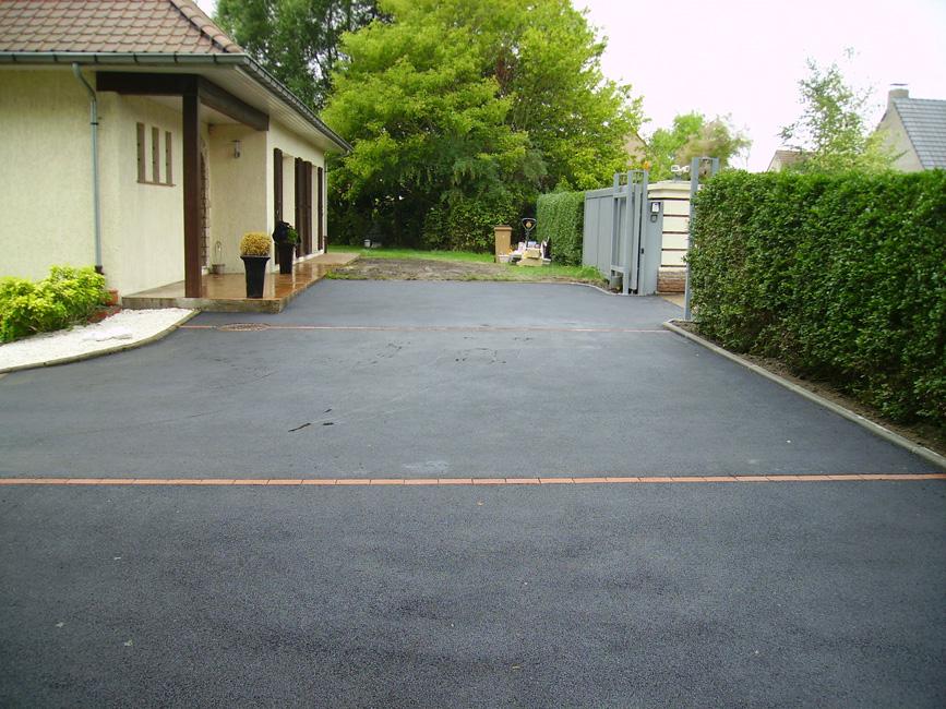 Demeyere entreprise de travaux publics for Amenagement entree garage